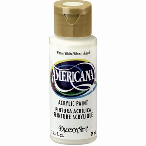 DecoArt Americana DA239_Warm white  59ml/2oz