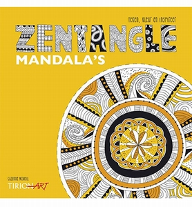 BOEK: Zentangle Mandala's, Suzanne Mc Neill isbn:9043917223  paperback
