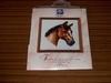 UITVERKOCHT Vervaco borduurpakket 2002-70507 Paardenhoofd  16 x 16 cm