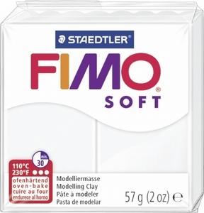 Fimo soft 0 wit  57 gram