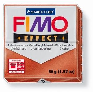 Fimo soft effect metallic 027 koper OP=OP  56 gram