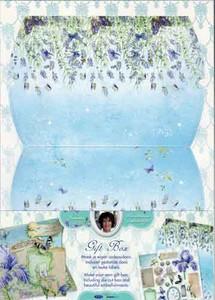 Cadeaudoosje (TH)CDSL27 Janneke Brinkman Lavendel  16x12x3cm