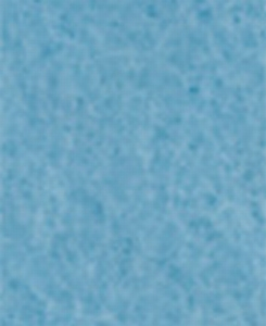 VLAP612 Truefelt wolvilt Lichtblauw  20x30cm 2mm dik