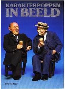 Bets en Jos van Boxel, Karakterpoppen boekenset  A4 paperback