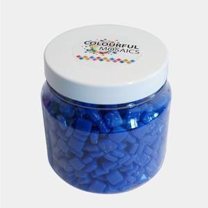 Glasmozaiek Colourful Squares grootverp. Blauw 1012160  500gram