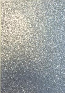 EVA Foam glitter sheets H&C12315-1531 Silver A4/5 vel