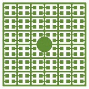 Pixelmatje 342 papegaaien groen