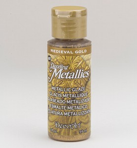 Deco Art Metallic Glaze DGM03 Medieval Gold  59ml/2oz