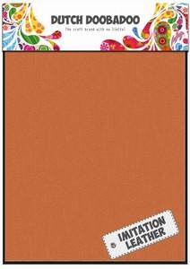 DDBD Dutch Fabric art 456.070.024 Imm. leer Oranje  (2x) 15x20cm