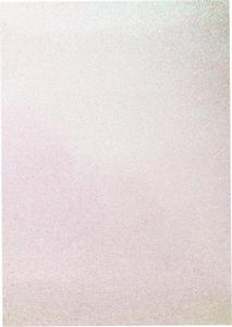 EVA Foam glitter sheets H&C12315-1533 Rainbow White A4/5vel