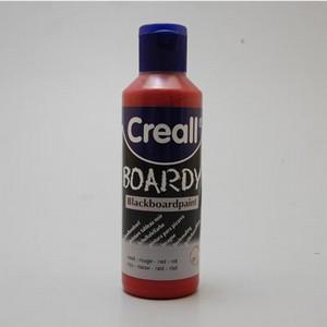 Creall Boardy schoolbordverf: Rood 90901  80 ml