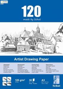 Schut Artist Drawing paper bloc 30vel 120grams art. 1532