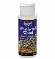 Deco Art Americana DAS-8-3Weathered Wood Crackle medium 59ml/2oz