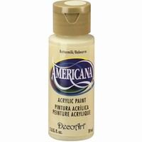 DecoArt Americana DA003_Buttermilk 59ml/2oz