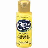 DecoArt Americana DA010_Cadmium yellow