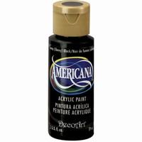 DecoArt Americana DA067_Lamp (ebony) black  59ml/2oz