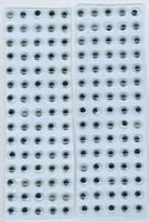 Wiebelogen zelfklevend H&C fun 12219-1931, 150stuks 6 mm