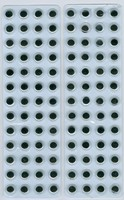 Wiebelogen zelfklevend H&C fun 12219-1932, 104stuks