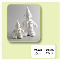 Styropor Clown met puntmuts klein art. 21428 15 cm