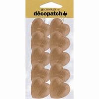 AC3540 Decopatch Hartjes set van 10 stuks 4 cm