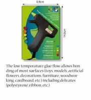 Lijmpistool klein, lage temperatuur, Creative, 21534-03
