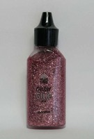 Glitterlijm 118577_0009 Zacht roze 20ml Craftemoti