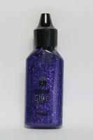 Glitterlijm 118577_0013 Violet 20ml Craftemoti