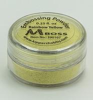 Embossing poeder Mboss 390107 Rainbow Yellow 0,25fl.oz.(8gr)