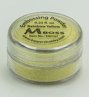 Embossing poeder Mboss 390107 Rainbow Yellow