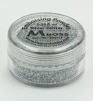 Embossing poeder Mboss 390111 Silver Glitter 0,25fl.oz.(8gr)