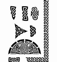 6074 Sjabloon Keltisch 3 (A4) 470.418.000 29 x 21 cm