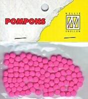 Mini pompons POM012 Neon Roze