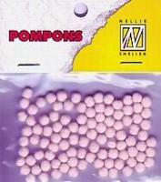 Mini pompons POM013 Roze/Pink