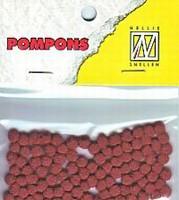 Mini pompons POM015 Roestbruin