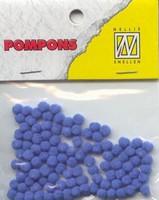 Mini pompons POM019 Lichtblauw