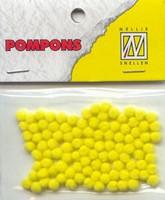 Mini pompons POM020 Geel