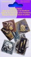 11810-4004 Scrapbook basics embellishments Champagne 2tot3cm metaal