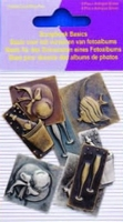 11810-4004 Scrapbook basics embellishments Champagne