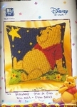 UITVERKOborduurpakket 2575-8584 Winnie the Pooh sterrenhemel 40x40cm kussen
