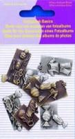 11810-4007 Scrapbook basics embellishments Baby boy 2tot3cm metaal