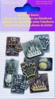 11810-4008 Scrapbook basics embellishments Feest 2tot3cm metaal