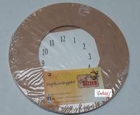 400.90.300 Let's Get Bizzee MDF Klok 2-delig met wijzerplaat 21,5cm