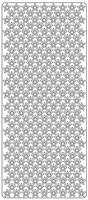 Stickervel Sterretjes all over 264 sterretjes 1cm art.1733