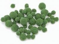Knorr Prandell 212681-045 Pompons groen ca.100stuks  8 tot 20mm