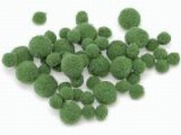 Knorr Prandell 212681-045 Pompons groen ca.100stuks