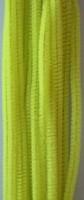 Chenille draad 6mm 12271-7106 Lemon Geel 30cm 20stuks