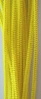 Chenille draad 6mm 12271-7107 Geel 30cm 20stuks