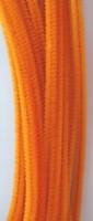 Chenille draad 6mm 12271-7108 Oranje 30cm 20stuks