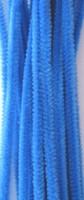 Chenille draad 6mm 12271-7110 Blauw 30cm 20stuks