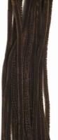 Chenille draad 6mm 12271-7114 Donkerbruin 30cm 20stuks